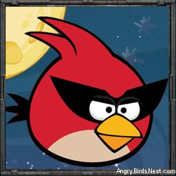 Angry Birds Space Avatar Red Bird 3