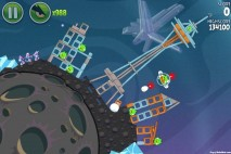 Angry Birds Space Fry Me to the Moon Level 3-10 Walkthrough