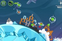 Angry Birds Space Fry Me to the Moon Level 3-4 Walkthrough