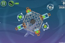 Angry Birds Space Fry Me to the Moon Level 3-7 Walkthrough