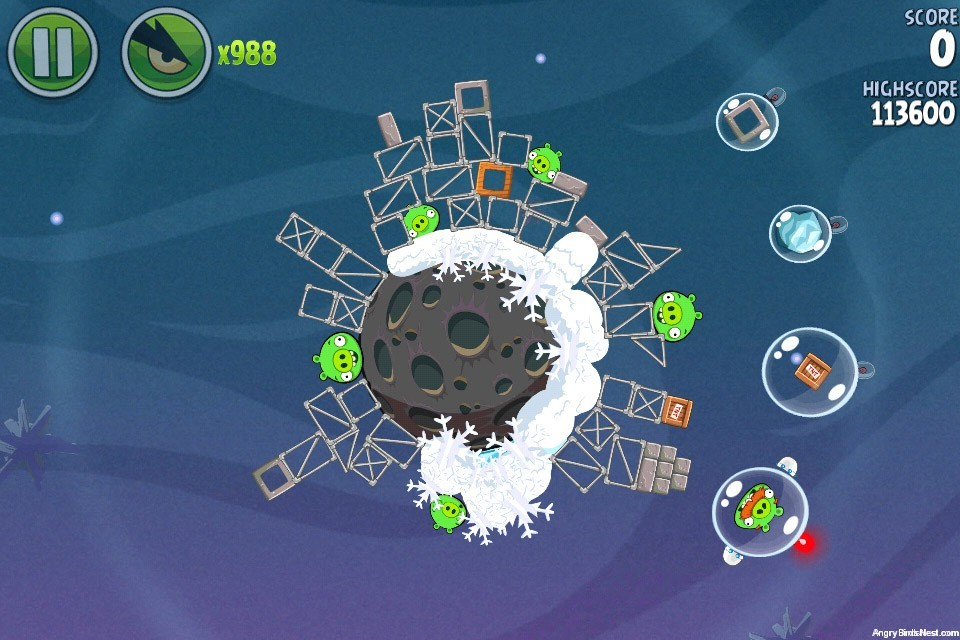 angry birds space lunar launcher - photo #27
