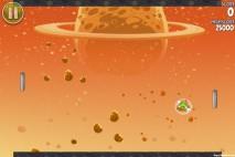 Angry Birds Space Golden Eggsteroid #6 (E-6) Walkthrough