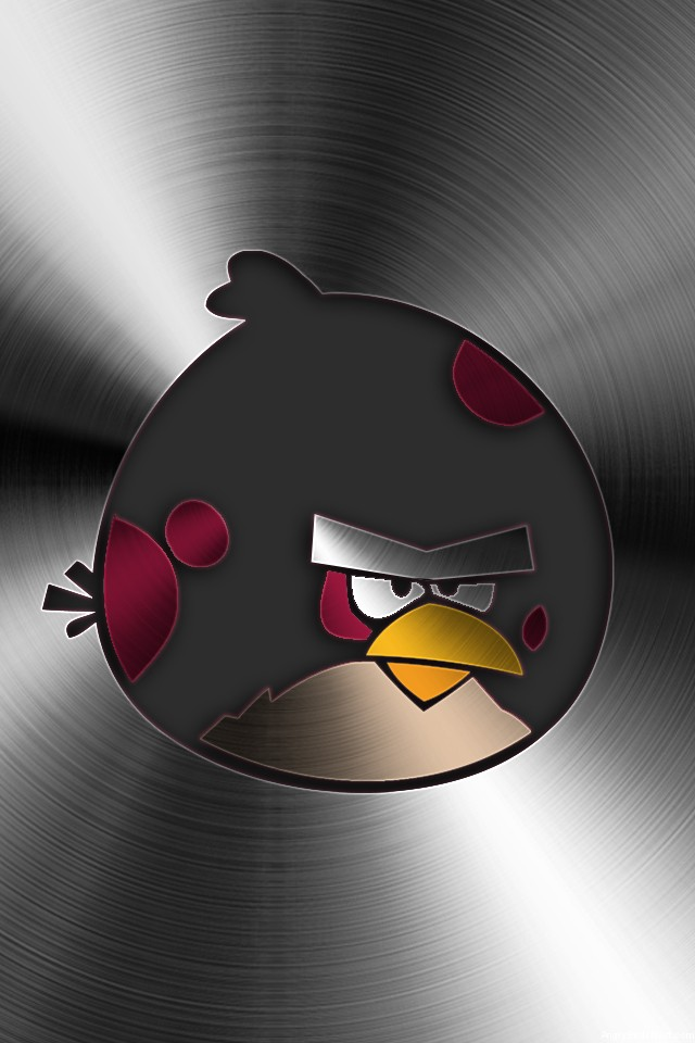 Angry Birds Brushed Metal Mobile Big Brother