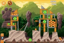 Angry Birds Cheetos Level 1-2 Walkthrough