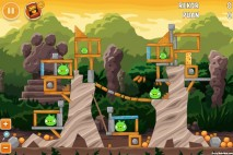 Angry Birds Cheetos Level 2-1 Walkthrough