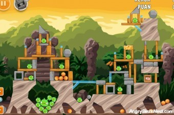 Angry Birds Cheetos Level 2-2 Walkthrough