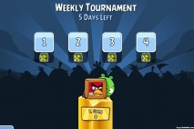 Angry Birds Friends on Facebook Tournament Level Selection Screen