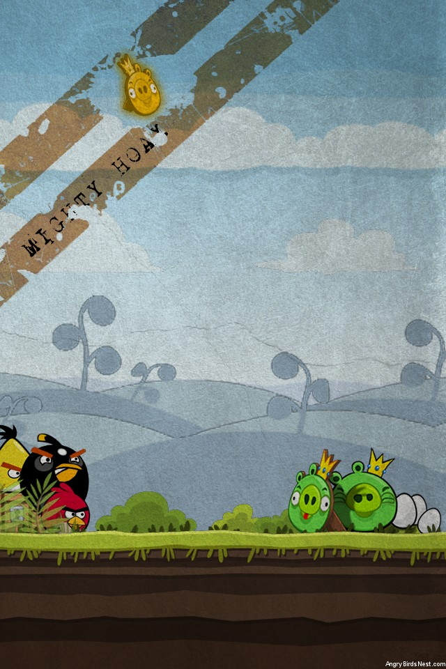 Angry Birds Grunge Mobile Mighty Hoax