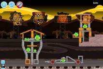 Angry Birds Lotus F1 Team Level #1 Walkthrough