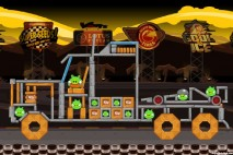 Angry Birds Lotus F1 Team Level #3 Walkthrough