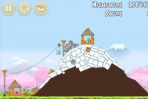 Angry Birds Fuji TV Sakura Ninja Level 7