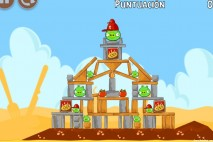 Angry Birds Telepizza Level #2 Walkthrough