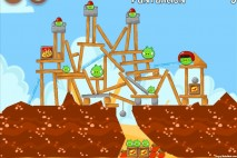 Angry Birds Telepizza Level #5 Walkthrough