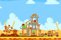 Angry Birds Telepizza Level #6 Walkthrough