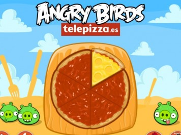 Angry Birds Telepizza Level Selection Screen