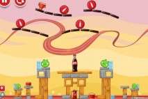 Angry Birds Coca-Cola Level #1 Walkthrough