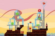 Angry Birds Coca-Cola Level #2 Walkthrough