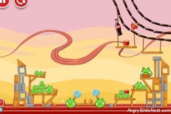 Angry Birds Coca-Cola Level #4 Walkthrough