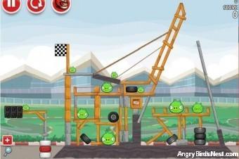 Angry Birds Heikki Silverstone (Britain) Walkthrough