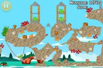 Angry Birds Seasons Piglantis Golden Egg #34 Walkthrough