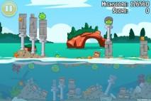 Angry Birds Seasons Piglantis Golden Egg #35 Walkthrough