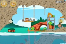 Angry Birds Seasons Piglantis Level 1-1 Walkthrough