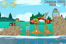 Angry Birds Seasons Piglantis Level 1-11 Walkthrough