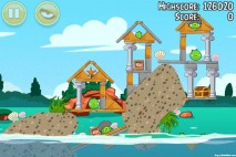 Angry Birds Seasons Piglantis Level 1-12 Walkthrough