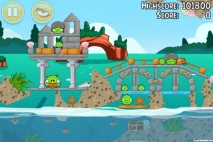 Angry Birds Seasons Piglantis Level 1-13 Walkthrough
