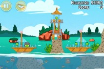 Angry Birds Seasons Piglantis Level 1-14 Walkthrough
