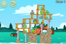 Angry Birds Seasons Piglantis Level 1-2 Walkthrough