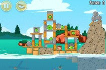 Angry Birds Seasons Piglantis Level 1-3 Walkthrough