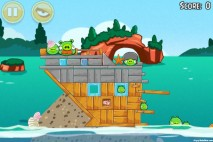 Angry Birds Seasons Piglantis Level 1-4 Walkthrough
