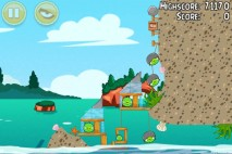Angry Birds Seasons Piglantis Level 1-5 Walkthrough