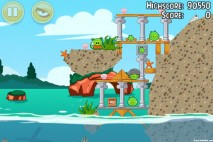 Angry Birds Seasons Piglantis Level 1-6 Walkthrough