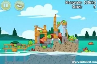 Angry Birds Seasons Piglantis Level 1-8 Walkthrough