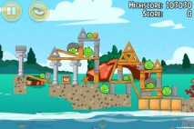 Angry Birds Seasons Piglantis Level 1-9 Walkthrough