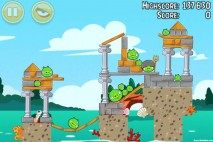 Angry Birds Seasons Piglantis Level 2-1 Walkthrough