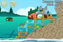 Angry Birds Seasons Piglantis Level 2-11 Walkthrough