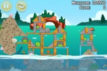 Angry Birds Seasons Piglantis Level 2-12 Walkthrough