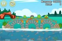 Angry Birds Seasons Piglantis Level 2-14 Walkthrough