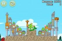 Angry Birds Seasons Piglantis Level 2-15 Walkthrough