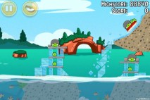 Angry Birds Seasons Piglantis Level 2-2 Walkthrough