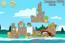 Angry Birds Seasons Piglantis Level 2-3 Walkthrough