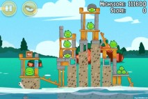 Angry Birds Seasons Piglantis Level 2-4 Walkthrough
