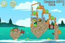 Angry Birds Seasons Piglantis Level 2-5 Walkthrough