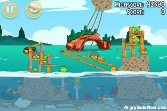 Angry Birds Seasons Piglantis Level 2-6 Walkthrough
