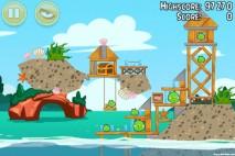 Angry Birds Seasons Piglantis Level 2-7 Walkthrough