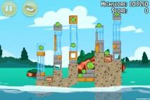 Angry Birds Seasons Piglantis Level 2-8 Walkthrough