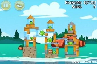 Angry Birds Seasons Piglantis Level 2-9 Walkthrough